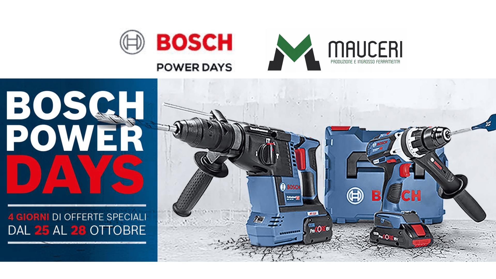 Bosch Power days – Vendita Promozionale
